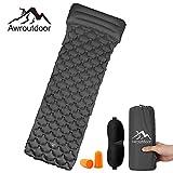 Awroutdoor Camping Isomatte, Ultraleichte Isomatte Aufblasbare Luftmatratze Schlafmatte für Camping, Reise, Outdoor, Wandern