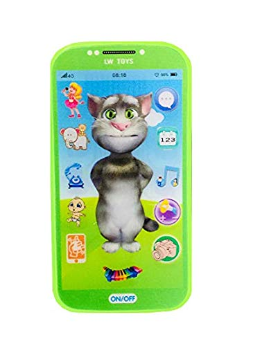 Sajani Kids Toys Digital Mobile Phone with Touch Screen Feature, Amazing Sound and Light Toy (Tom)