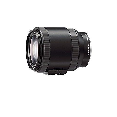 Sony Objectif SEL-P18200 Monture E APS-C 18-200mm F3.5-6.3 - Noir