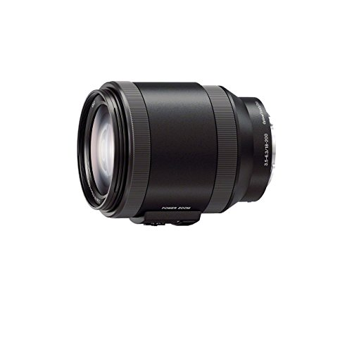Sony SELP18200, Video-Zoom-Objektiv (18-200 mm, F3,5–6,3 OSS, E-Mount APS-C, geeignet für A5000/ A5100/ A6000 Serien& Nex) schwarz