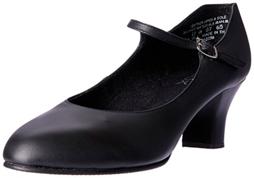 Capezio Damen Schuh mit Fußlicht, Damen, 650-BLK9M, Schwarz, UK 7 / EU 40