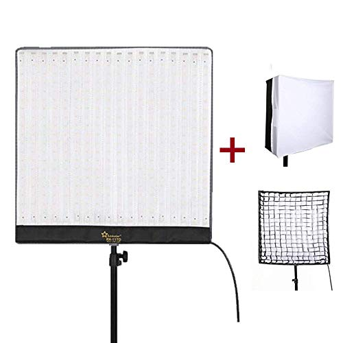 Linkstar RX-11TD Roll-Flex LED Video Light 68W 3000K-5600K Bi-Color Studio Lighting with Softbox Diffuser Portable LED Photo Light for Photography Lighting (Studio Portable Stand)