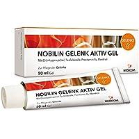 NOBILIN GELENK AKTIV GEL 50 ml mit Teufelskralle & Panthenol - Kühlgel, Gelenksalbe bei Gelenkschmerzen, Knieschmerzen... preisvergleich bei billige-tabletten.eu