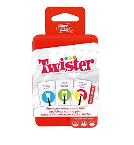 Shuffle100227034–Gioco di abilità Twister [lingua italiana non garantita]