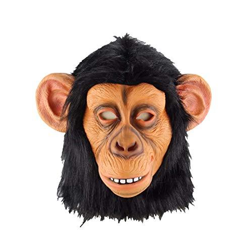 Halloween Head Cover Weihnachten Karneval Horror Scary Latex Maske Fools Ganzen Mann Requisiten
