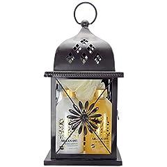 Idea Regalo - Gloss! Lanterna Bagno Argan - Confezione da 5 Pezzi