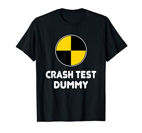 Mädchen Kostüm Dummy - Crash Test Dummy Halloween T-Shirt