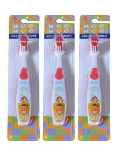 Mee Mee ToothBrush MM-3890 Red Pack of 3