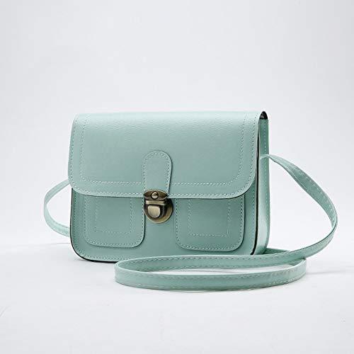 2019 Neue Frühling kleine quadratische Tasche Damen Auto Linie Handtaschen Großhandel Retro Schulter Messenger Bag Handy kleine Tasche (Color : D)