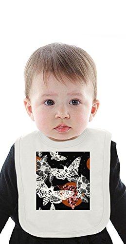 Night Flies Organic Baby Bib With Ties Medium