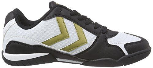 Hummel Root Trophy, Chaussures Multisport Indoor mixte adulte Blanc - Blanc pâle