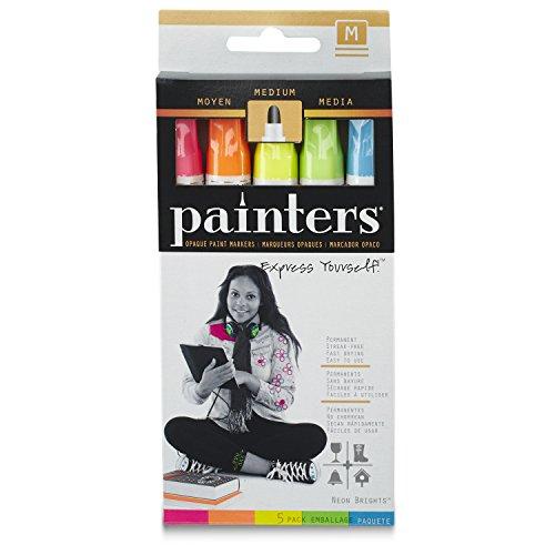 Elmers/X-Acto Maler Spitze Paint Marker, neon, 1-Pack of 5 (Paint Marker Maler,)