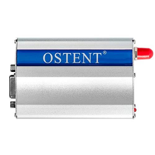 OSTENT GSM Modem, mit Wavecom Q2303A Modul, COM/RS232/Serieller Anschluss, für AT Befehlssätze / SMS / Telefonanrufe, Australischer Stromstecker