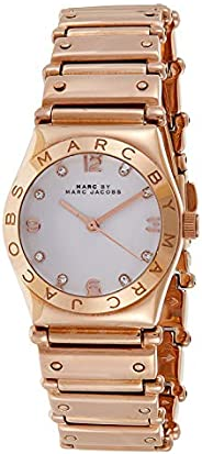 Marc by Marc Jacobs Women's White Dial Stainless Steel Band Watch - MBM