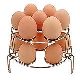 WaterLuu Eier Dampfer Rack, Eierkocher Steamer Rack Setzer für Instant Pot und Schnellkochtopf, stapelbare Steamer Rack für Instant Pot (2 Pack)