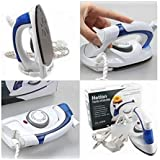 GaxQuly Best Quality Travel Folding Handel Portable Powerful Mini Electrical Steam Iron Press,Multicolor