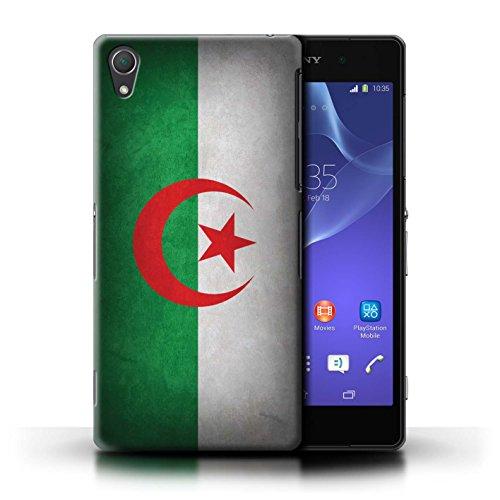 Kobalt® Imprimé Etui / Coque pour Sony Xperia Z2 / Portugal/portugais conception / Série Drapeau Algérie