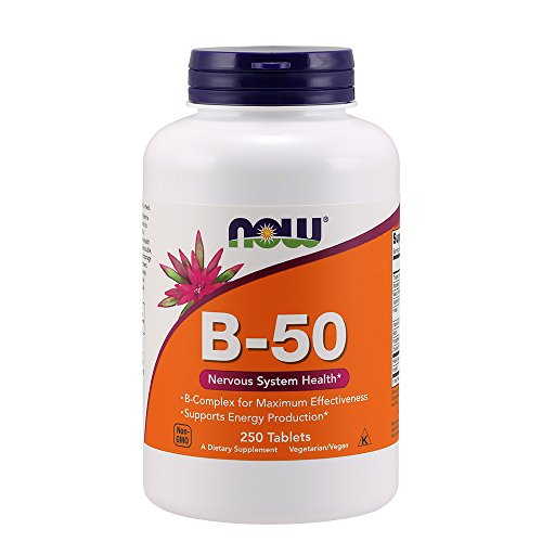 B-50-komplex 250 Tabletten (Now Foods, B-50, 250 Tabletten)