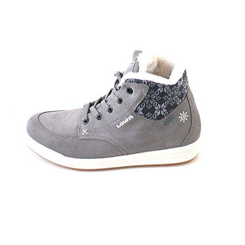 Lowa Mosca Gtx Qc Ws, Sneaker a Collo Alto Donna Marrone (Taupe/Creme Taupe/Cream)