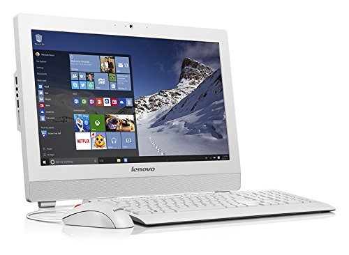 Lenovo ThinkCentre S200Z - Ordenador de sobremesa AiO (Intel N3700, 19.5', 1 TB, 4 GB RAM), Color Blanco