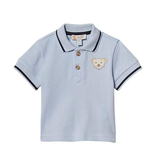 Steiff Baby - Jungen Poloshirt L001914301, Gr. 56, Blau (Kentucky Blue 6020)