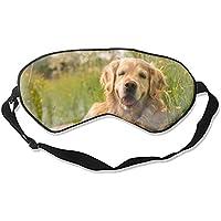 Weiche, bequeme Augenmaske, Sleepy Dog 3D Schlafmaske mit verstellbarem Riemen für Frau Mann Augen Schlafen Reisen... preisvergleich bei billige-tabletten.eu