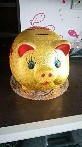 Keramik-goldenes schwein sparschwein Extra große cartoon spardose für erwachsene Kinder Wohnzimmer dekoration-C