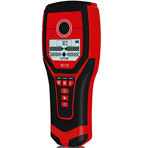 KUNSE MD120 Multifunktionale Handheld Wand Metalldetektor Holz AC Kabel Finder Scanner genaue Wand Diagnostik-Werkzeug