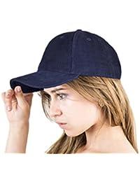 EXC-CO-2 - Excellent Cord Cap - Basecap Baseballcap Mütze Kappe für Damen und Herren beige braun navy schwarz