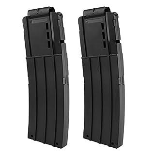 TXXCI Soft Bullet Clip Pistole Clip Reload Clip Magazine für 15 Darts Für Nerf N-Strike Elite Serie Spielzeuggewehre-2 Stück
