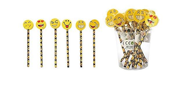 12 Bleistift mit Radiergummi Hand Schule Büro Mitgebsel Tombola Kindergeburtstag