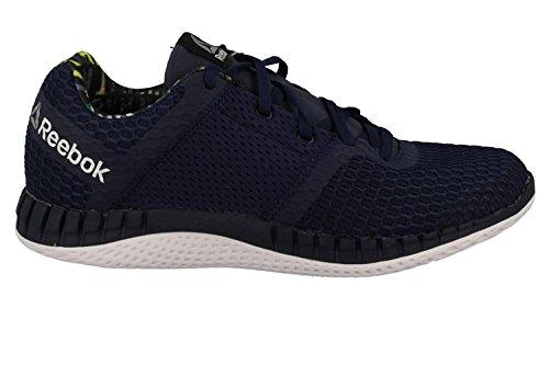 Reebok Zprint Run Thru Gp, Chaussures De Course À Pied Homme Bleu (azul (collegiate Navy / Blanc))