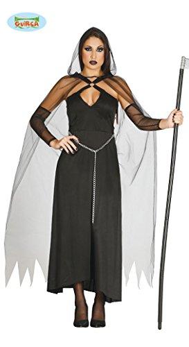 Sexy Sensenmann Kostüm für Damen Halloweenkostüm Damenkostüm Halloween Gr. S/M, (Sensenmann Sexy Kostüme)