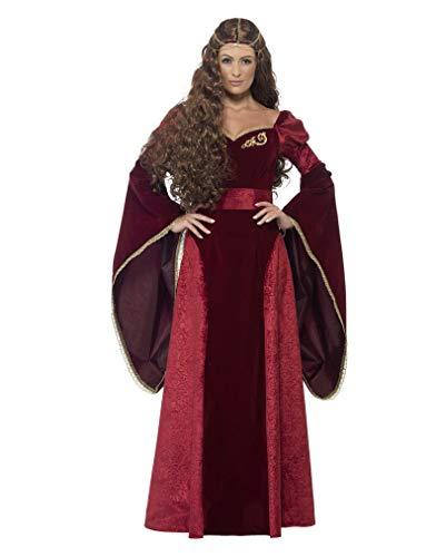 Horror-Shop Mittelalter Königin Kostüm XL