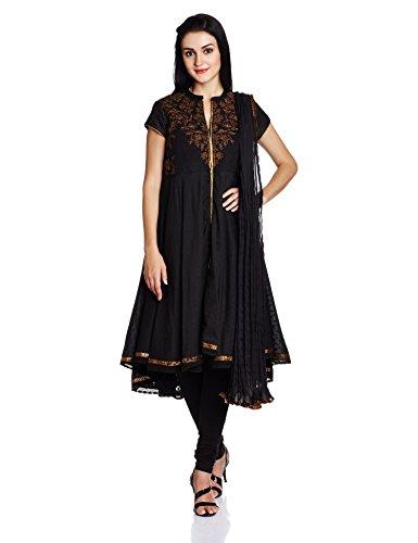 Biba Women's Asymmetrical Hemline Salwar Suit