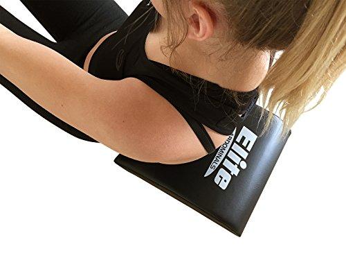 Elite Sportz Sitzkissen für den Bauchmuskeln, sehr bequem und bietet eine tolle Unterstützung für den unteren Rücken, hilft dabei, die Belastung zu entfernen, so dass das Sitzen einfach ist - inklusive Widerstandsband