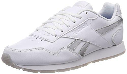 Reebok Royal Glide, Zapatillas de Trail Running para Mujer, Blanco (White/Silver Met 000), 36 EU