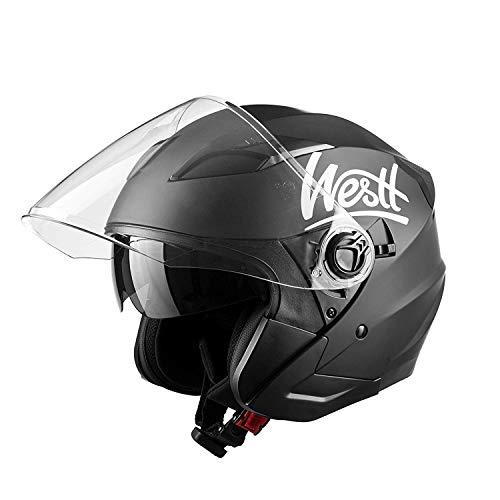 Westt Jet Casco de Moto Abiert-1
