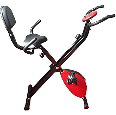 'X'Sports Exercise Bike X-Bike Folding Magnetic Home Cardio Fitness Machine by Leisure Pursuits