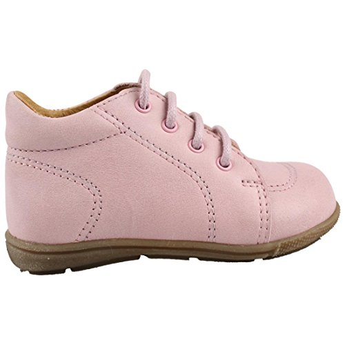 En-fant unisex bambini scarpe stringate primi passi, pelle, 814126U Pink