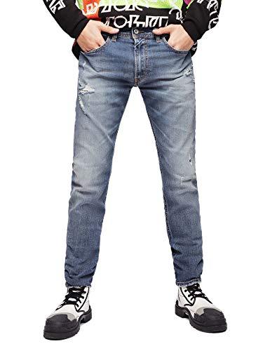 Diesel Thommer Jeans Homme Denim Medium Blue 31 L32