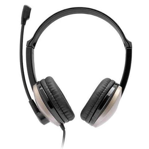 Bluestork bs-mc200Stereo-Headset mit Lautstärkeregler und