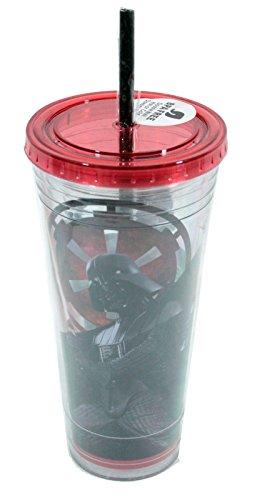 Vandor product Star Wars Darth Vader Vaso con Tapa roja 24oz