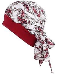 Diademas Mujeres Pañuelos para la Cabeza Sombrero de la Turbante de Las Sombrero de la Banda