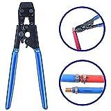 GCCLCF PEX-Rohrschelle Rohrschelle Fahrzeugkäfigschelle Rohrschelle. Endlos-Schlauchschelle aus Edelstahl, 304 Edelstahl, blau