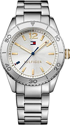 Tommy Hilfiger–Reloj de Pulsera analógico para Mujer Cuarzo Acero Inoxidable 1781566
