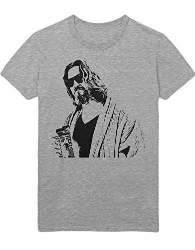 HYPSHRT Herren T-Shirt Big Lebowski Milk C001020 Grau XXXL -