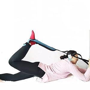 MEYLEE Leg Lifter Strap – Starre Fußschlaufe & Handgriff Für Erwachsene, Ältere Menschen, Handicap, Behinderung & Pädiatrie – Long Band Mobilitätshilfe Für Bett, Couch, Hüfte Ersatz Und Rollstuhl