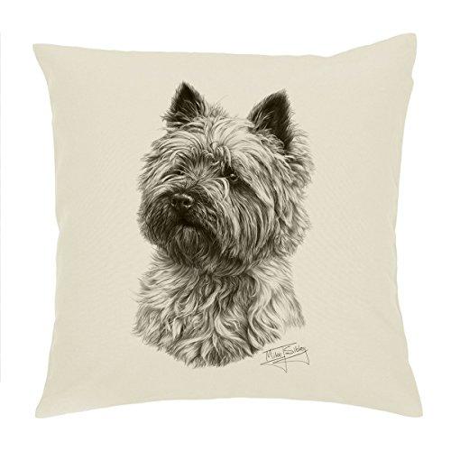 Cairn Terrier Hund Kissenbezug/Kissen 18