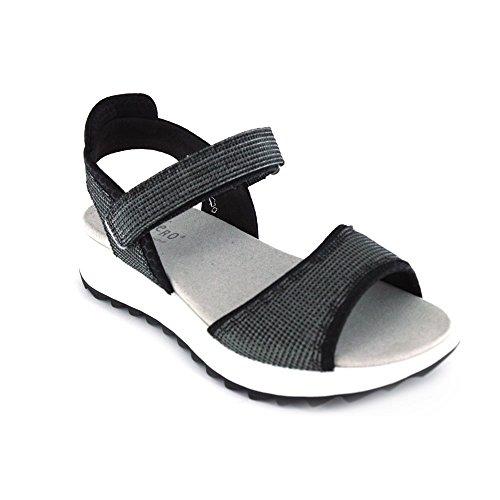 Legero 000711, Sandales Pour Femmes Negro